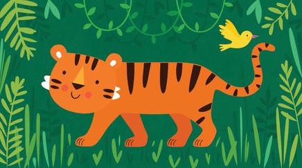 Friendly Tiger!