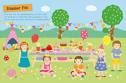 My My First Party Sticker Activity Book