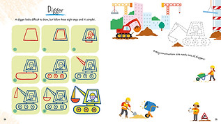 Draw With Simple Shapes - Digger
