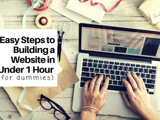 5 Easy Steps for Building a Website in Under 1 Hour (For Dummies)