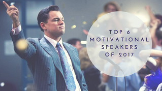 Top 6 Motivational Speakers of 2017