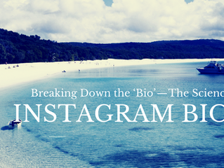 Breaking Down the 'Bio' — The Science of Instagram Bios