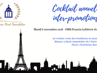 SAVE THE DATE - Cocktail annuel inter-promotions