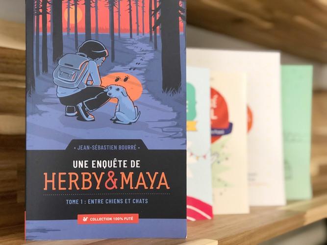 Une enquête de Herby et Maya: Entre chiens et chats
