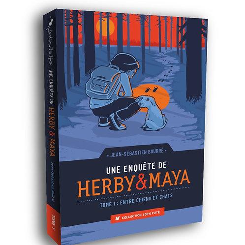 Une enquête de Herby & Maya, Tome 1 - Entre chiens et chats