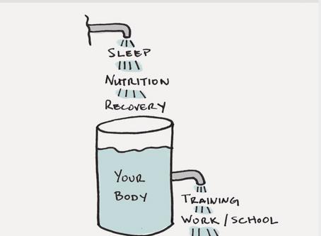 Hoe herstel je van een training?