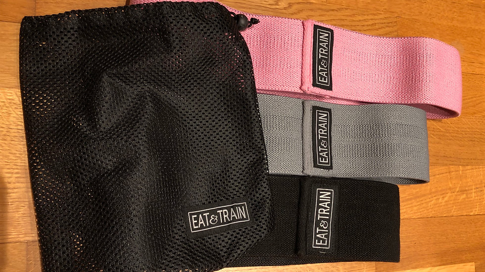 Eat & Train Booty Bands