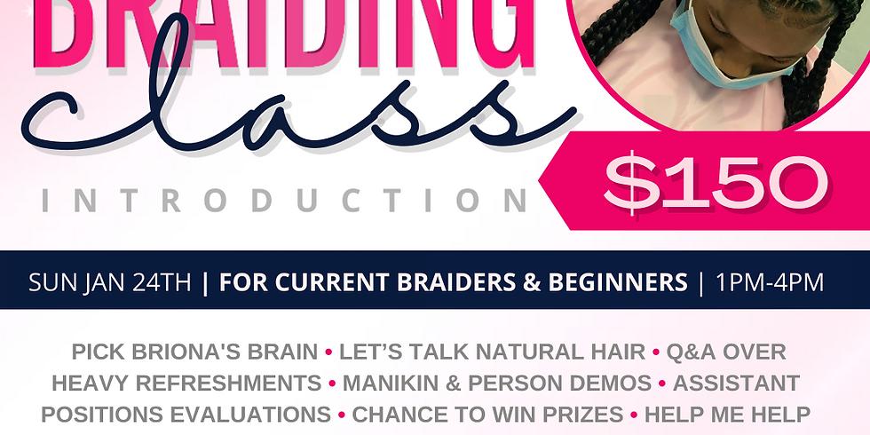 Braiding Class Introduction
