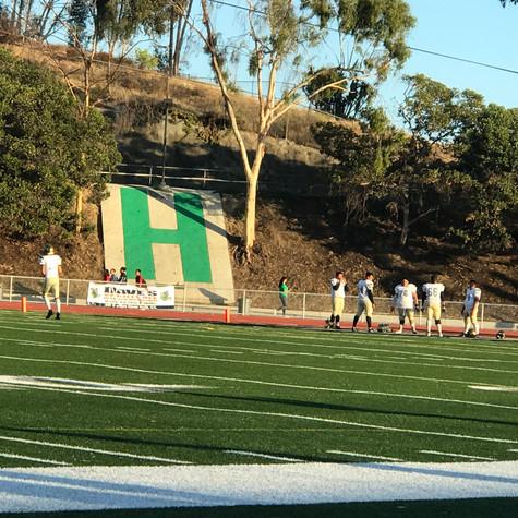 Hilltop Football Game