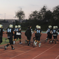 SYH Football Players Running
