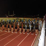 Cheerleaders Cheering for Players