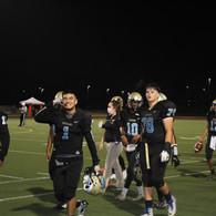 Football Team Members Walking
