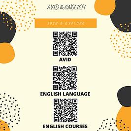 ENGLISH & AVID
