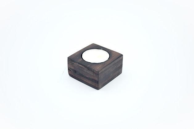 木製蠟燭座-矮(1個)