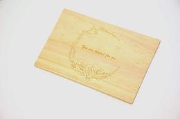 木製情人卡