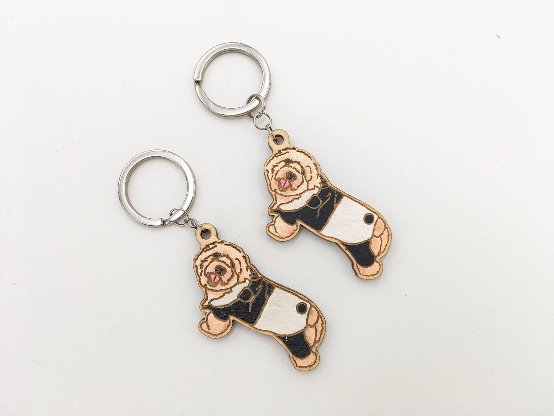 訂製寵物鎖匙扣
