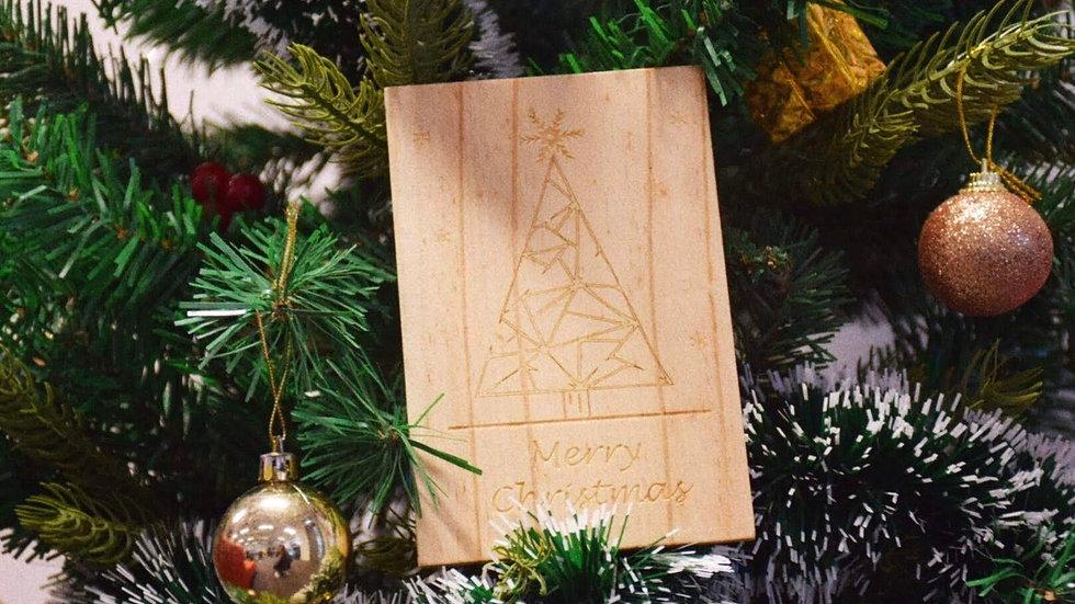 WLMC-002(聖誕卡-聖誕樹)