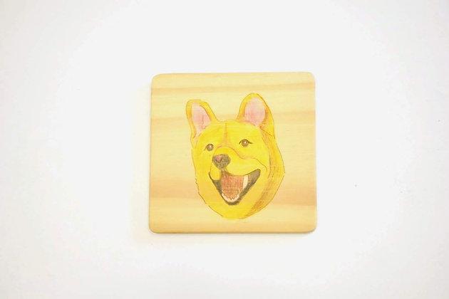狗畫像-土狗