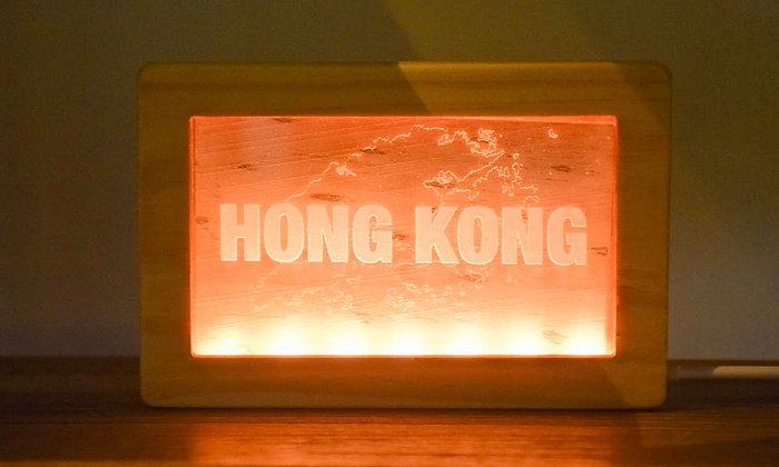 HONG KONG 燈箱