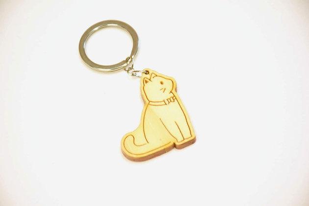 鎖匙扣-紳士貓