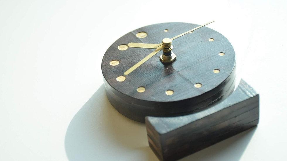 WLTC - 001(木時鐘 - 圓形)
