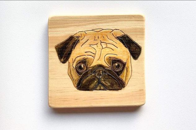 狗畫像 - 八哥