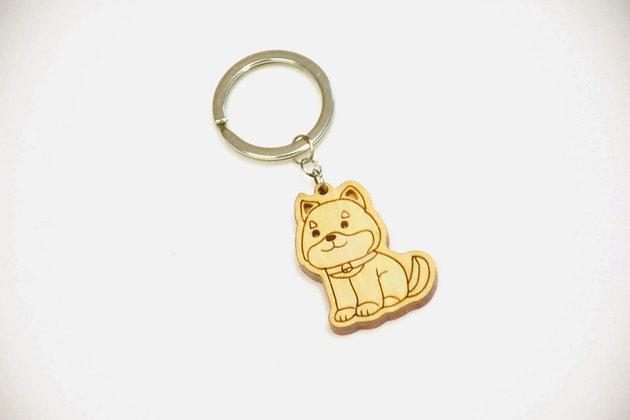 鎖匙扣-柴犬
