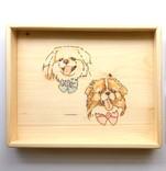 訂製寵物畫像托盤