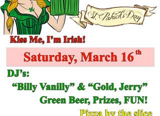 St. Patrick's Day _ DJ Party