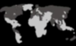 World Map about us (Goldener Schnitt) V4