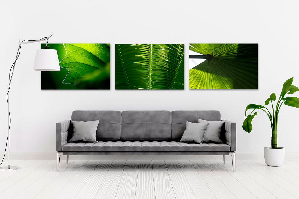 Florale Wandbild-Serie