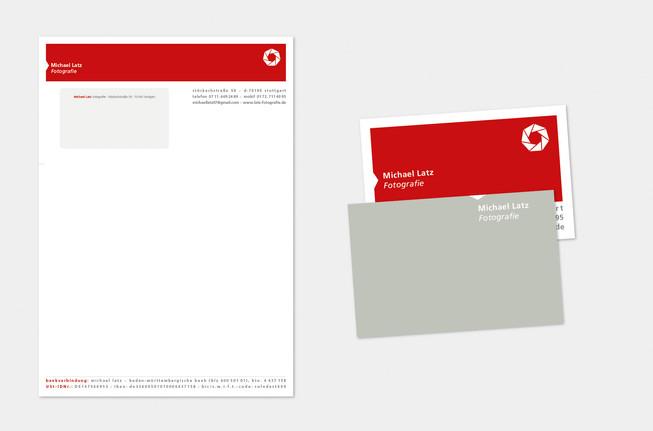 Visitenkarte, Geschäftsbrief
