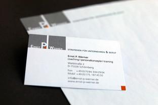 Logo, Visitenkarte, Geschäftsbrief