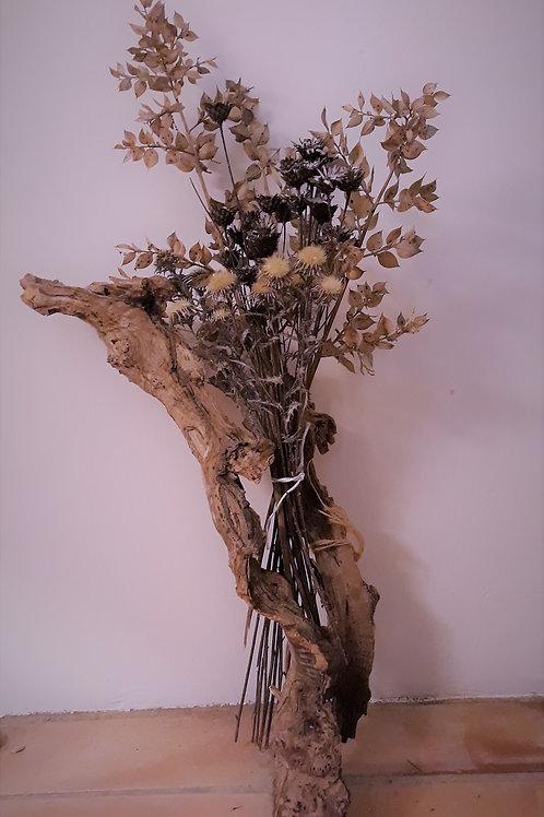 Bouquets fleurs séchées
