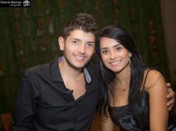 Aniversário de Thais e Fabiano