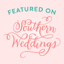 As featured on Southern Weddings
