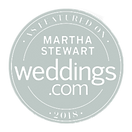 As featured in Martha Stewart Weddings