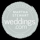 As featured in Martha Stewart Weddings