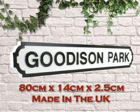 Goodison Park Road Sign