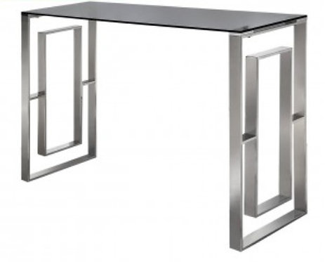 Ava Smoked Console Table