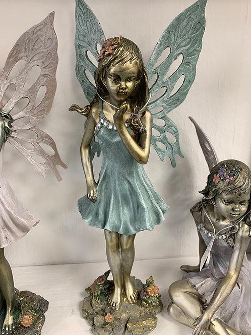 "15"" Standing Flower Fairy"
