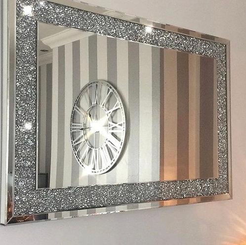 Crushed Diamond Large Mirror 120x80cm