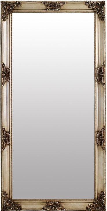 Champagne French Style Traditional Mirror 180x90cm