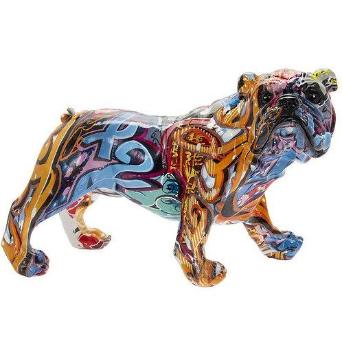 Graffiti Bulldog 25x15x17cm
