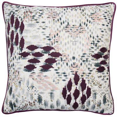 Aubergine Chopin Cushion 45x45