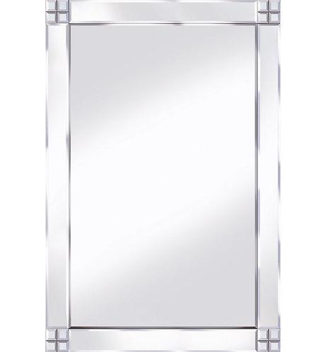 Classic Cross Corner Mirror 120x80cm
