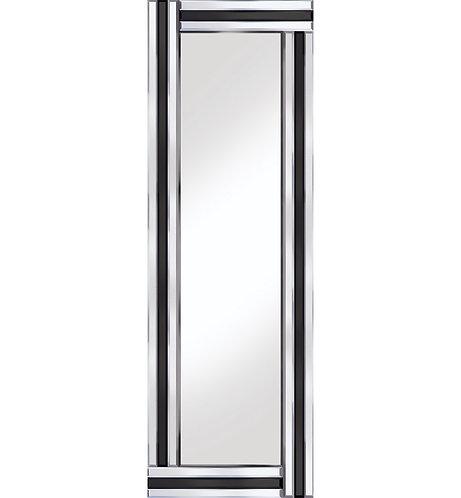 Classic Triple Bar Black/Silver 120x40cm