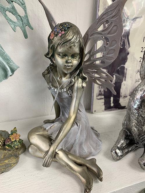 "12"" Sitting Flower Fairy"