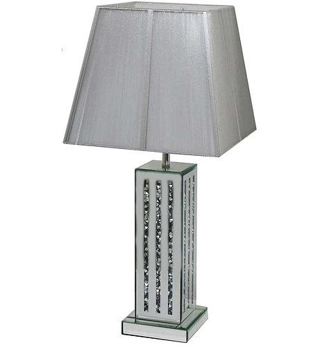 Crushed Diamond 3 Stripe Lamp