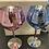 Thumbnail: 2x Glitter Gin Glasses Blue & Pink